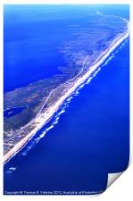 Outer Banks Aerial, Print