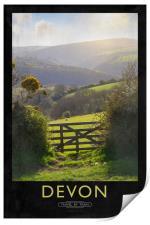 Devon, Print