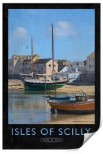 Isles of Scilly, Print