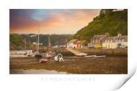 Pembrokeshire, Print