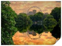 St James Park London, Print