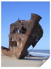 Ship Wreck., Print