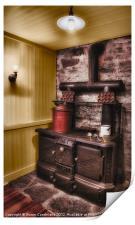 Antique Kitchen, Print