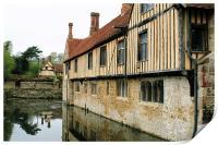 Medieval Manor House 3, Print
