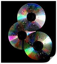 3 cd's, Print