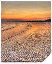 Deserted Beach, Print
