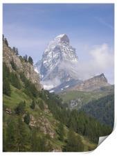 The Matterhorn , Print