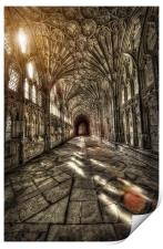 Cloisters, Print
