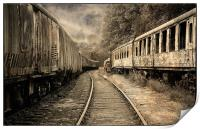 End of the Line., Print