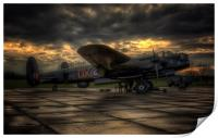 Avro Lancaster NX611, Print