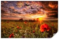 Lest We Forget RAF, Print