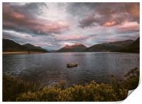 Loch Leven, Print