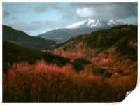 Snowdonia.                , Print