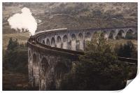 Glenfinnan Viaduct.                    , Print