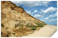 Covehithe Beach in Summer, Print