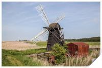 Herringfleet Smock Mill, Print
