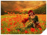 Red Dream, Print