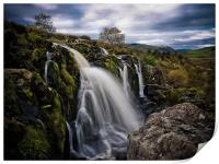 The Loup of Fintry, Scotland, Print
