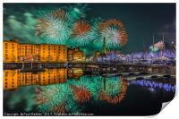 Liverpool River Of Light, Print