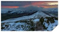 The Great Ridge from Losehill to Mam Tor, Print