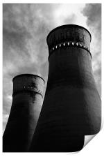 Tinsley Cooling Towers, Print