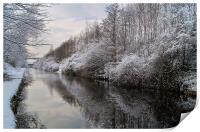 Sheffield Canal, Print
