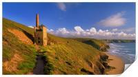Wheal Coates & North Cornwall Coastline, Print