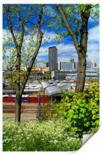 Springtime in Sheffield, Print
