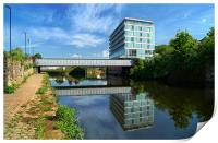 River Don in Rotherham, Print