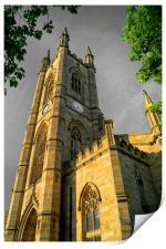 St Marys Church, Bramall Lane,Sheffield, Print
