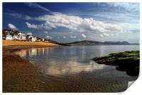 Lyme Regis, Print