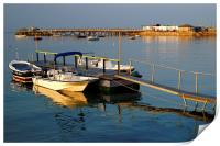 Swanage Pier and Boat Jetty, Print