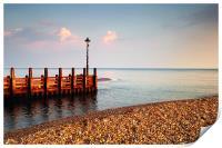 River Axe meets the Sea, Print