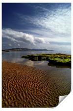 Lyme Regis Beach & Bay, Print