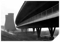 Tinsley Cooling Towers & Viaduct, Print