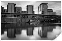 Victoria Quays & Modern Buildings, Print