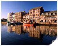 Plymouth, The Barbican, Print