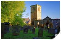 The Old Holy Trinity Church, Wentworth, Print