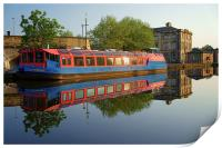 Sheffield Canal Reflections, Print