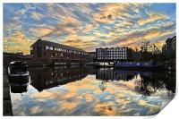 Victoria Quays Sunset, Print