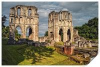 Roche Abbey Ruins, Print