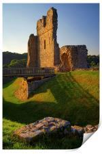 Ogmore Castle, Print