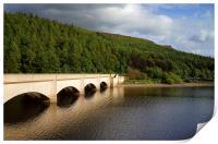 Ladybower Viaduct and Bamford Edge, Print