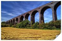 Conisbrough Viaduct , Print