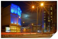 Moor Street Sub Station and Velocity Tower , Print