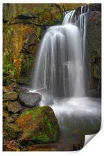 Lumsdale Falls , Print