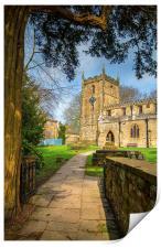 St James Church, Norton, Sheffield , Print