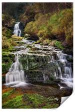 Middle Black Clough Falls, Print
