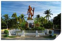 Lapu Lapu Statue, Mactan Island , Print