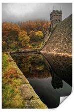 Autumn Shades at Derwent , Print